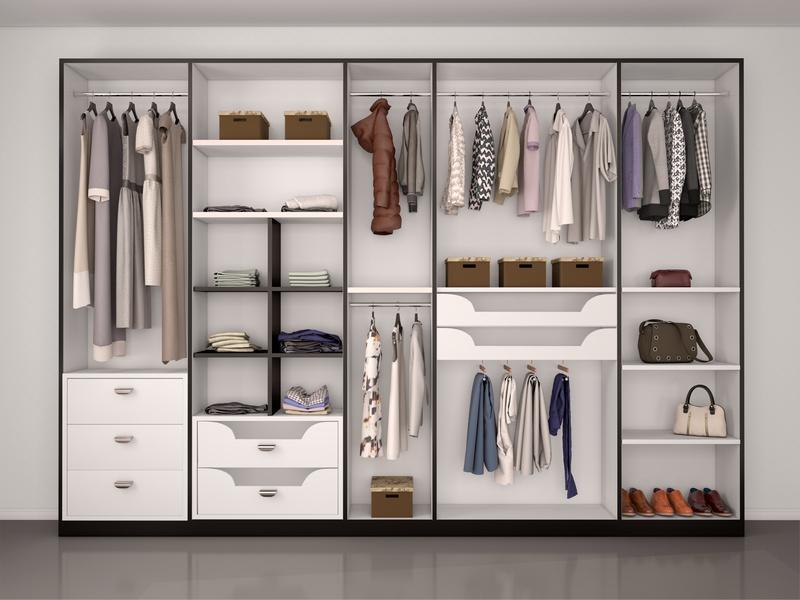 Ideas para el interior de un armario empotrado armarios - Como vestir un armario ...