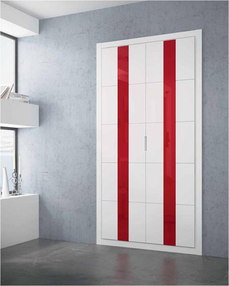 Tendencias y novedades en armarios empotrados y puertas - Puertas abatibles armario empotrado ...