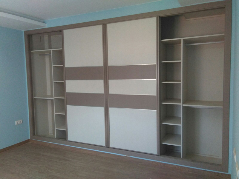 Puertas correderas algunos armarios y sus interiores - Armarios empotrados interiores ...